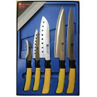 Stainless Steel 5 Knife SET Sashimi Sushi Cutlery Home Chef Kitchen Cook Knife