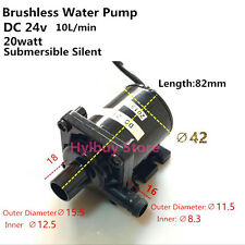 DC 24v 20w Brushless Water Pump Submersible Circulating Silent Bath shower pump
