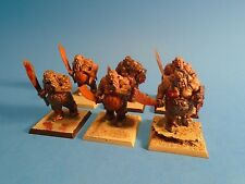 Warhammer Fantasy Battles Ogre Kingdoms Painted Ogre Bulls