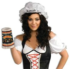 Colonial Mob Cap German Bavarian Fancy Dress Halloween Adult Costume Accessory
