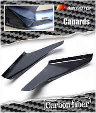 JDM Style Carbon Fiber Front Bumper Canards for Mitsubishi Evolution EVO 9 CT9A