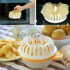 DIY Homemade Microwave Oven Baked Potato Chips Maker Baking Utensils Crisp Chip