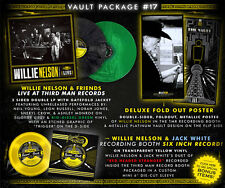 "Willie Nelson LP/6""/Poster - Third Man Records Vault #17 Complete w/ Jack White"