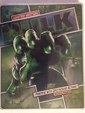 The Hulk (Blu-ray/DVD, 2013, 2-Disc Set, Limited Edition Steelbook