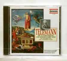 WINTER, FRIMMER - TELEMANN resurrection & ascension of Jesu CAPRICCIO CD SEALED