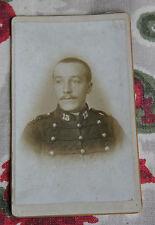 Photographie ancienne Portrait militaire 13e  CDV soldat français
