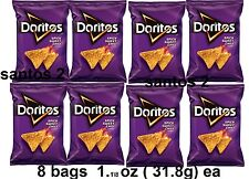Lot Of 8 Bags DORITOS Spicy Sweet Chili Chips