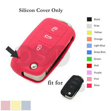 Silicone Cover Holder for VW VOLKSWAGEN SEAT SKODA Remote Key Fob 3BTN CV2801 RS