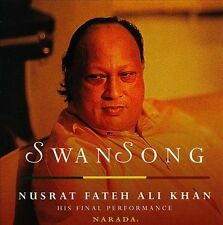 Swan Song by Nusrat Fateh Ali Khan (CD, Aug-1999, 2 Discs, Narada)