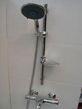 "Thermostatique mural robinets de baignoire, LGE 6 ""poche & rail de douche ensemble 331 / 351"