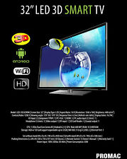 Promac 32in SMART LED TV (Internet, 3D Function) For Sale