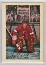 Terry Sawchuck 1952-53 Parkhurst Detroit Red Wings REPRINT Hockey Card #86