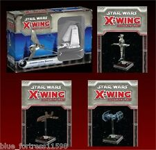 SW X-WING MINIATURES GAME Lambda-Class Shuttle, B-Wing, HWK-290, Tie Bomber
