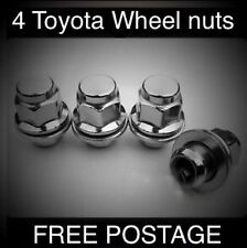 Genuine Original Factory Toyota Wheel Nuts X 4 Fits Corolla, M12x1.5 Thread 21mm