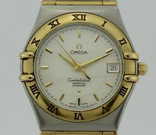 Omega Constellation Double Eagle Perpetual Calendar Automatic Steel and 18k Gold