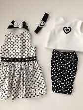"""Doll Clothes Made in USA for 18"""" American Girl dolls 5 pic LOT Maryellen-Julie"""