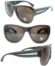 CHANEL 5310 SONNENBRILLE BRILLE CoCo BRAUN DAMEN LUXUS SHIRT No5 ORIGINAL + ETUI