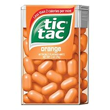 Tic Tac Orange 1oz Each