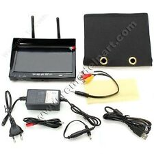 RC732-DVR 7'' 5.8GHz 32CH Diversity Receiver FPV Monitor DVR w/ Built-in Battery