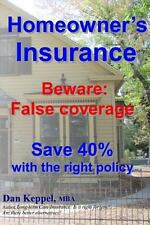 Homeowner's Insurance : Beware: False Coverage Save 40% with the Right Policy...