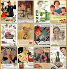 32 pcs Vintage Retro Posters Old Travel Postcards Wall Decoration Cards Set