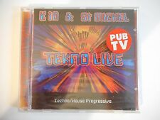 K 10 & ST MICHEL : TEKNO LIVE (HOUSE PROGRESSIVE - 1996)  || CD NEUF ! PORT 0€