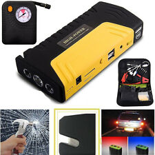 USB 2 Ports 12V 78800mAh Car Jump Starter Charger Booster Power Bank Battery OY