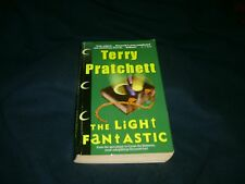 The Light Fantastic  Terry Pratchett   Discworld # 2   Harper Torch