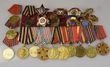 UDSSR Orden Medaille Ukraine Russland Ruhm Stern Vaterländischer Krieg Urkunde