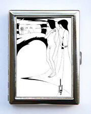 Woman in the Moon Salome Cigarette Case Wallet Business Card Holder Beardsley