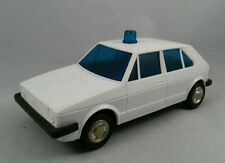 Jimson Plastik VW Golf 1 Nr. 339 Volkswagen Rabbit 1:24 Polizei Hong Kong