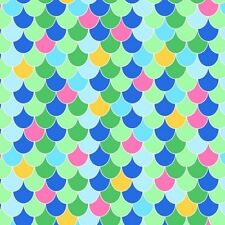 Exclusively Quilters Beautiful Briny Sea 4106 61359 05 Scales  BTY Cotton Fabric