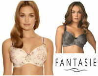 Fantasie Rebecca Mirage Underwired Moulded Bra 2961 Smoke or Blush  New Lingerie