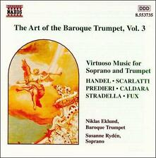 The Art of the Baroque Trumpet, Vol. 1, New Music