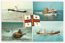 Postcard, Photo Precision, RNLI Lifeboats Multiview