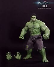 "Marvel Avengers Movie 16.5"" 1:6 Scale The Incredible Hulk MMS186 Hot Toys SEALED"