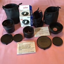 SONY Super Lens Bundle for SONY DSC H20 camera:SONY VADHA, VCL DH1758,VCL DH0758