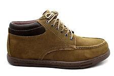Eastland Mens Aurora Boot Dark Khaki Suede Brown Size 9