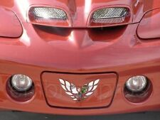 98-02 TRANS AM WS6 HOOD GRILLES GRILLS, STAINLESS STEEL