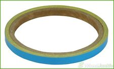 MOTORBIKE 7MM FLURO LIGHT BLUE WHEEL STRIPES FITS LAVERDA 150 Phoenix 01-04