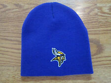 NFL MINNESOTA VIKINGS KNIT STOCKING HAT CAP BEANIE PURPLE OS  QUICK SHIPPER