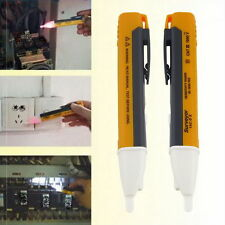 LED Light AC Electric Voltage Tester Volt Alert Pen Detector Sensor 90~1000V BE