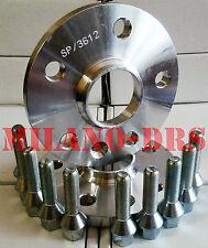 COPPIA DISTANZIALI RUOTA 16mm 5x112-66.5 - MERCEDES SLK (R171) Bullone CONICO