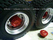1/14 rc car truck tractor parts RED Version a pair Red wheels for Tamiya  1851
