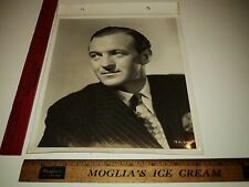 Rare Original VTG British Actor David Niven Great Portrait Little Mother Photo