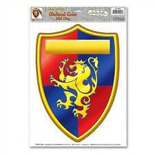MEDIEVAL Renaissance CREST Wall DECORATION*Prop*DECAL*Can Be Personalized