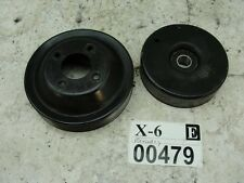 2002 Mercedes Benz c230 ENGINE MOTOR BELT TENSIONER IDLER PULLEY OEM SET SLK230