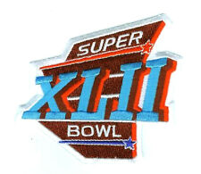 NFL AFL CHAMPIONSHIP GAME SUPER BOWL JERSEY PATCH COLLECTIONS: SB XLII NY SB42