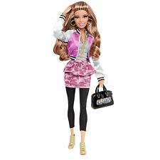 2013 Barbie Style NIKKI DOLL In Shiny Sport Jacket ~FULLY POSEABLE!~ NEW