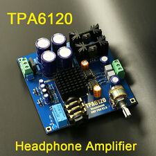 TPA6120 Headphone Amplifier HIFI AMP Board Kit Verstärker for DIY ac/dc 12v-20v